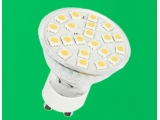 21pcs dimmable 5050smd led lights gu10