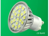 smd metal housing gu10 led spotlight