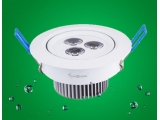 9W Dimmable led downlight