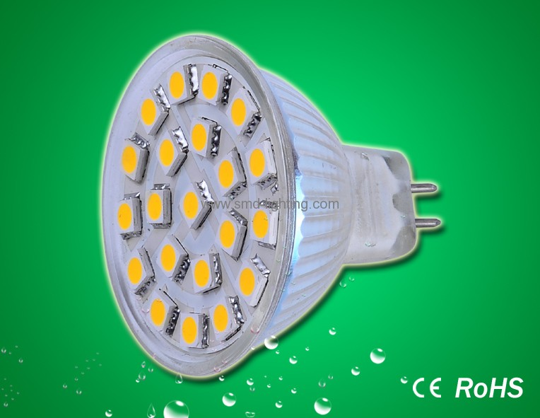 21pcs 5050smd led lights MR16