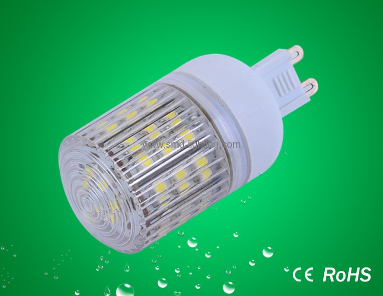 48smd 3528 g9 led light with cover