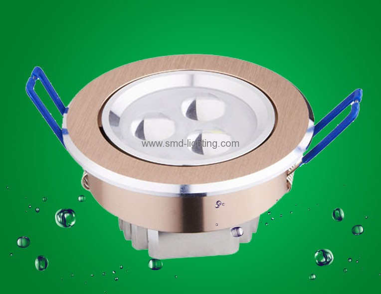 3*1W led ceiling lamps