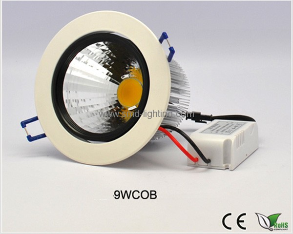 9W LED COB Ceiling Downlight